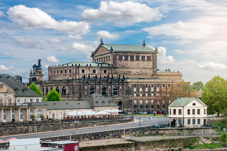 State Opera House in Dresden, Germany