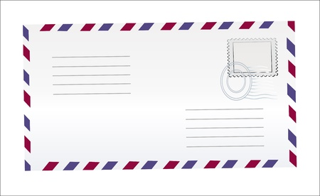 Illustration pour Blank postcards isolated in high resolution - image libre de droit