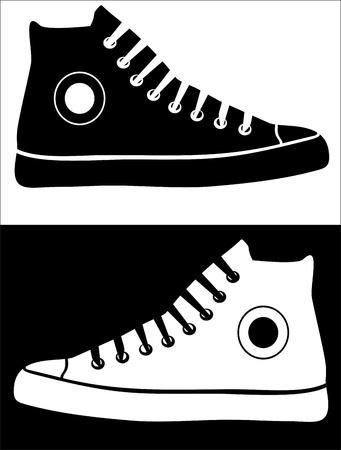Illustration pour Sneakers - image libre de droit