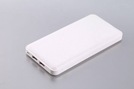 Photo for Power bank or Battery bank isolated for charging mobile devices - Royalty Free Image