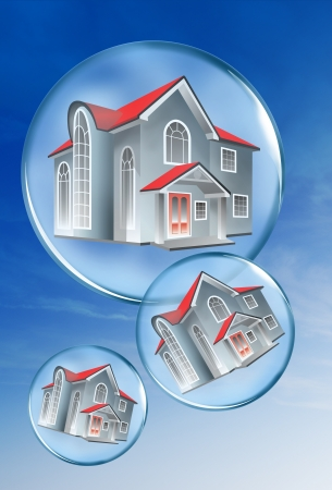 Homes in a bubble