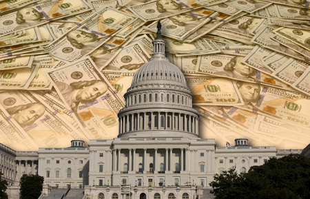 Photo for Congress spending and wasting your money. - Royalty Free Image