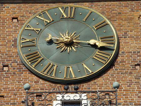 old city clock