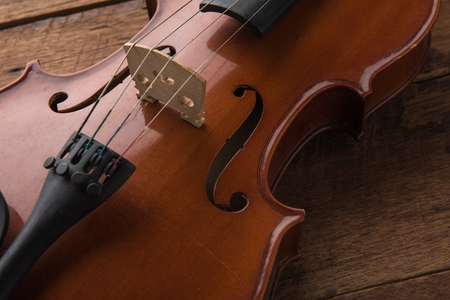 copy space with close up shot of a violin (violin, cello, symphony)
