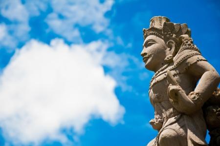 angel statue in bali, indonedia