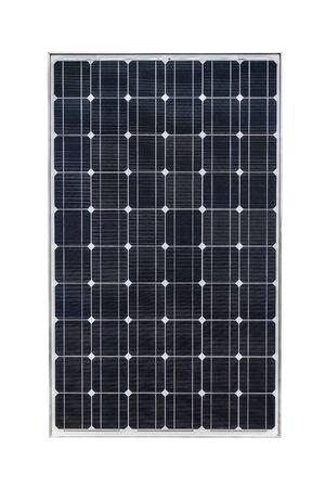 Photo for Solar panel isolated on white background - Royalty Free Image