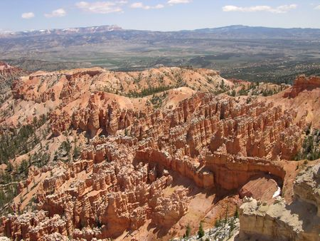 Bryce Canyon - Aerial View