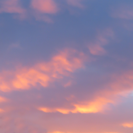Blue, Pink And Golden Dawn