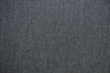 Photo pour Gray fabric texture - Lightly used cotton fabric - Graphite gray fabric background - image libre de droit
