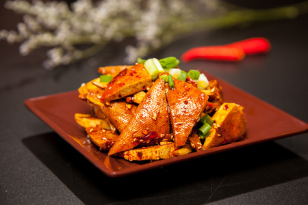 Fresh nutrition delicious Chinese food