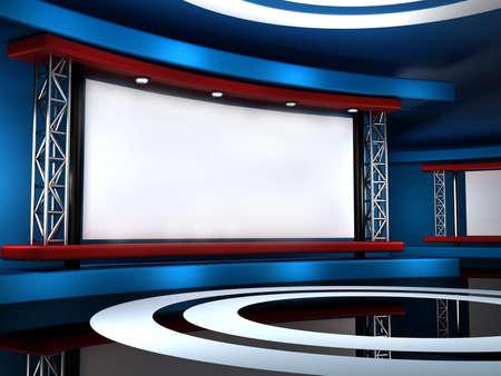 background studio for tv chroma