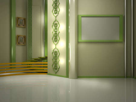 background studio for tv chroma