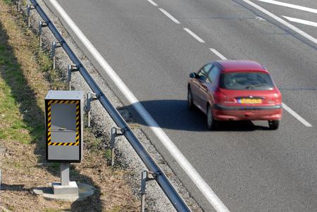 Radar on a road