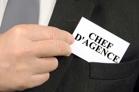 The agency head