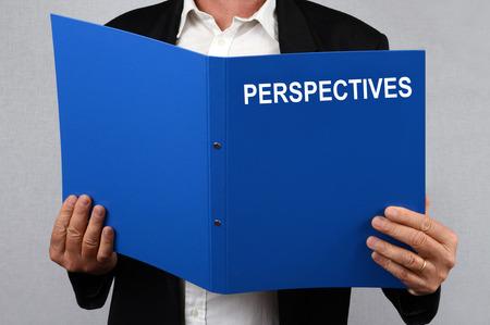 Folder prospects in hand
