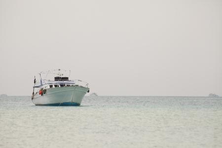 Fishing boat standing