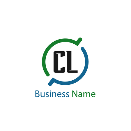 Initial Letter CL Logo Template Design