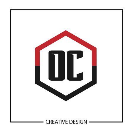 Initial Letter OC Logo Template Design Vector Illustration