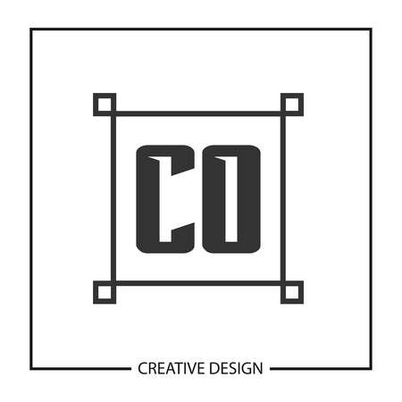 Initial Letter CO Logo Template Design Vector Illustration