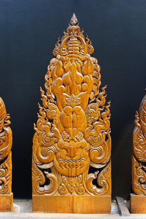 Thai Art piece Wooden in Chiang Rai