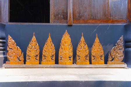 Ornament Thai Art piece Wooden in Chiang Rai