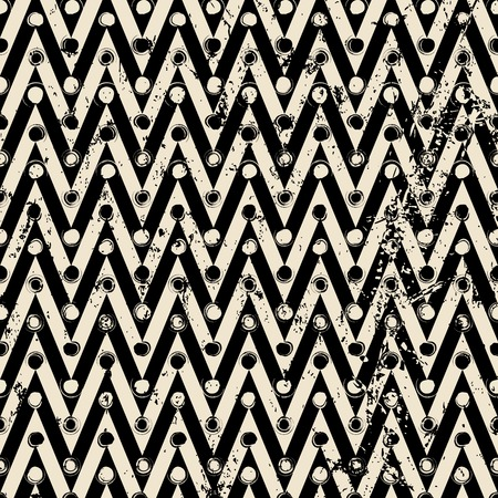 abstract geometric background pattern, with triangles/zigzag, circles, strokes and splashes