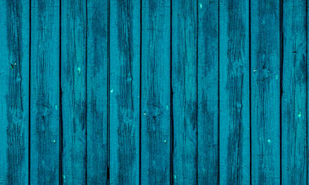 Photo pour Old blue wooden board beautiful background Photo - image libre de droit