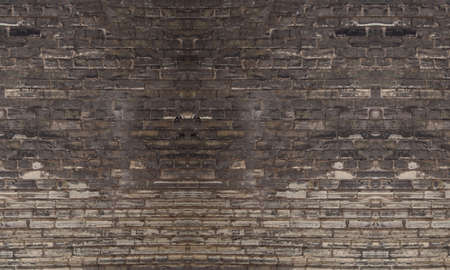 Foto de brick dirty graffiti old pattern background - Imagen libre de derechos