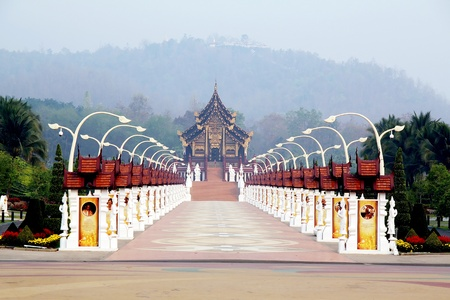 The Royal Flora in Thailand