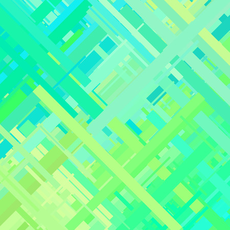 Pastel Green Glitch Background Distortion Effect Abstract