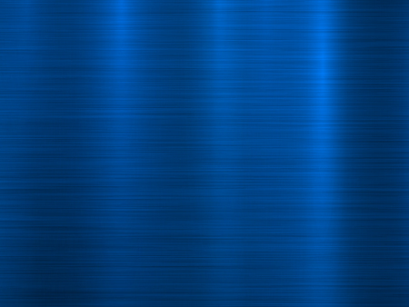Ilustración de Blue metal technology horizontal background with polished, brushed texture, chrome, silver, steel, aluminum for design concepts, wallpapers, web, prints and interfaces. Vector illustration. - Imagen libre de derechos