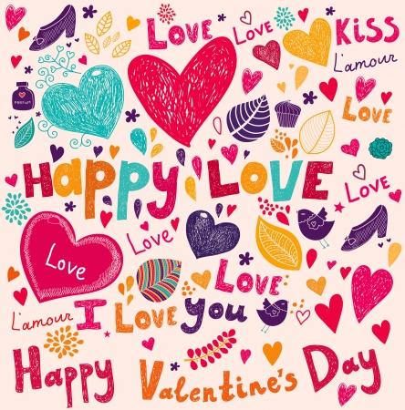 Ilustración de Vector art Valentine Greeting card - Imagen libre de derechos