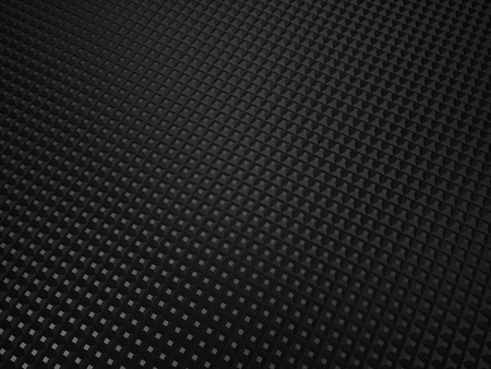Illustration of black metallic textured background with dots