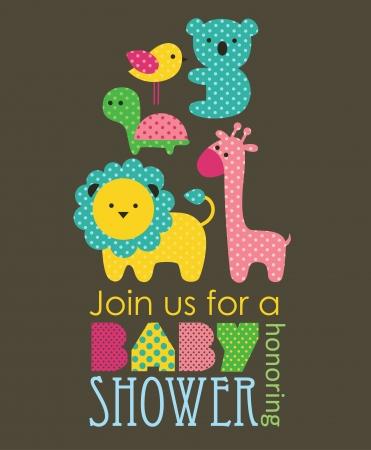 baby shower design. vector illustration