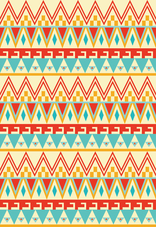 ethnic seamless pattern design. vector illustration