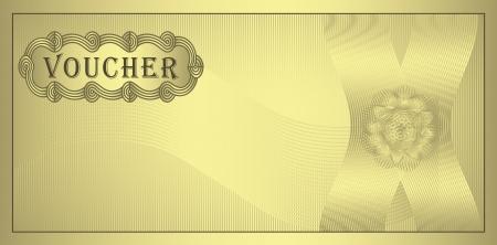 raster Voucher gold coupon