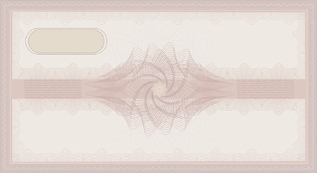 raster Voucher Guilloche coupon rose pink certificate template security spirograph