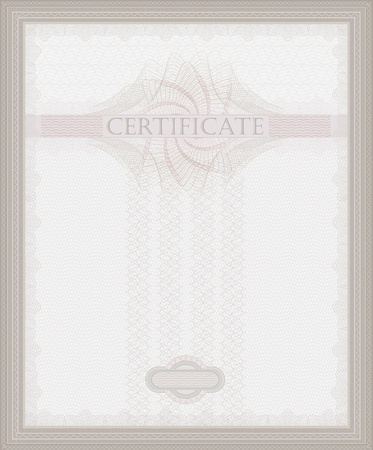 raster Certificate Guilloche template security spirograph