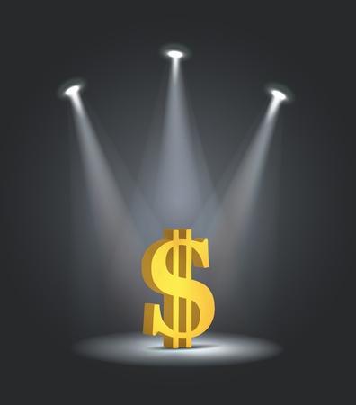 reflector light dollar