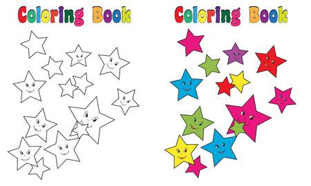 Coloring Book Stars