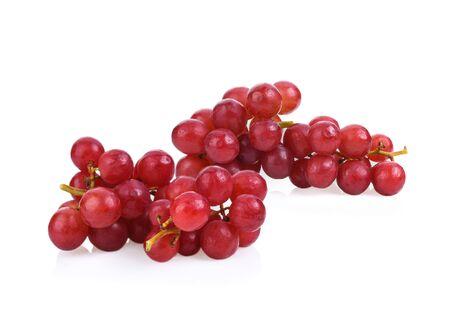 Foto für Grape red isolated on white background. - Lizenzfreies Bild
