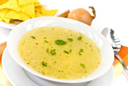 tasty chicken soup