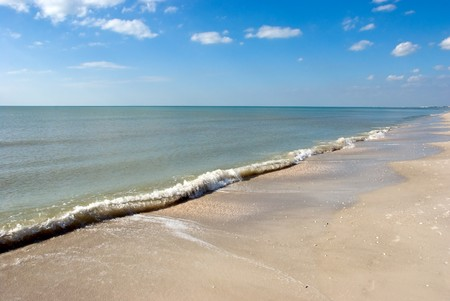 Beach in Naples,Southwest Florida