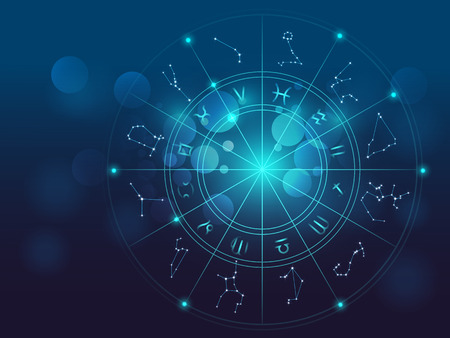 Backdrop design of sacred symbols, signs, geometry and designs to provide supporting element for illustrations on astrology, alchemy, magic, witchcraft and fortune telling