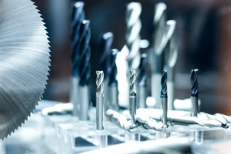 Foto für Metal milling and drilling cutter tools for heave industry - Lizenzfreies Bild