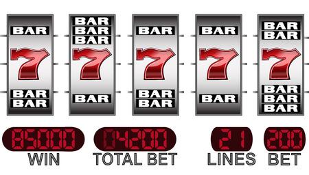 big win in casino slot machine