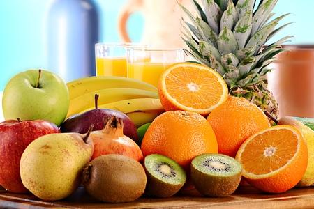 Foto für Composition with fruits - Lizenzfreies Bild