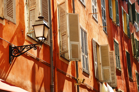 Photo for Old town architecture of Nice on French Riviera - Royalty Free Image
