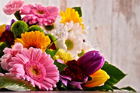 Foto für Composition with bouquet of flowers. - Lizenzfreies Bild