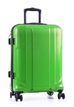 Photo pour Travel suitcase isolated on white background. - image libre de droit